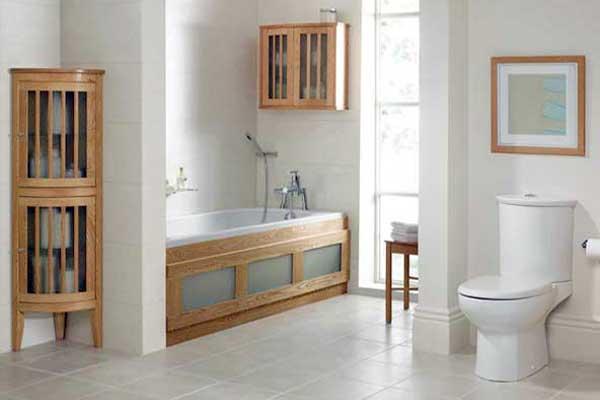 Badkamerrenovatie handgemaakte houten badmeubels kapellen antwerpen - Klassieke badkamer meubels ...