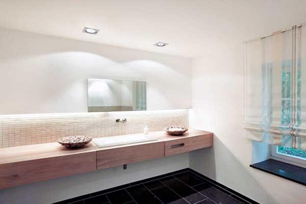 Originele badkamerverlichting spots badkamer set badkamer