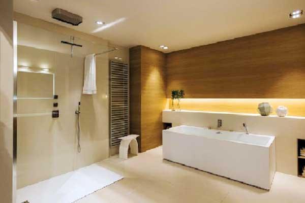 Verlichting Woonkamer Plan : Badkamerrenovatie led verlichting kapellen brasschaat